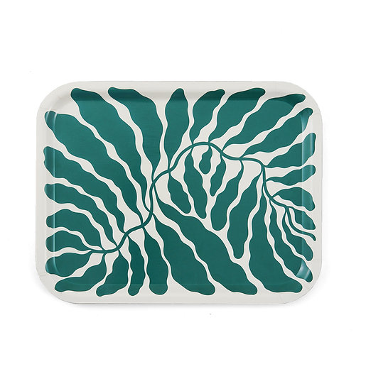 LINNEA ANDERSSON Green Leaves Tray