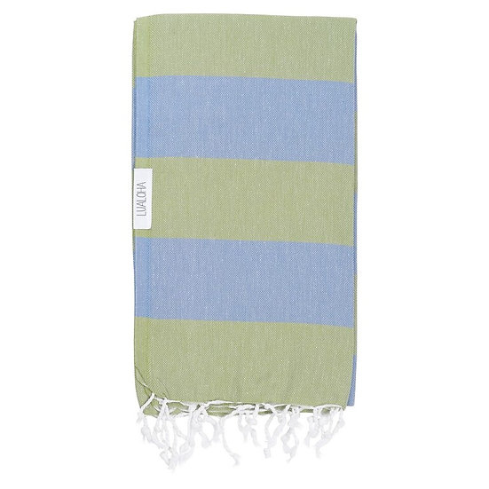 LUALOHA Olive Denim Towel