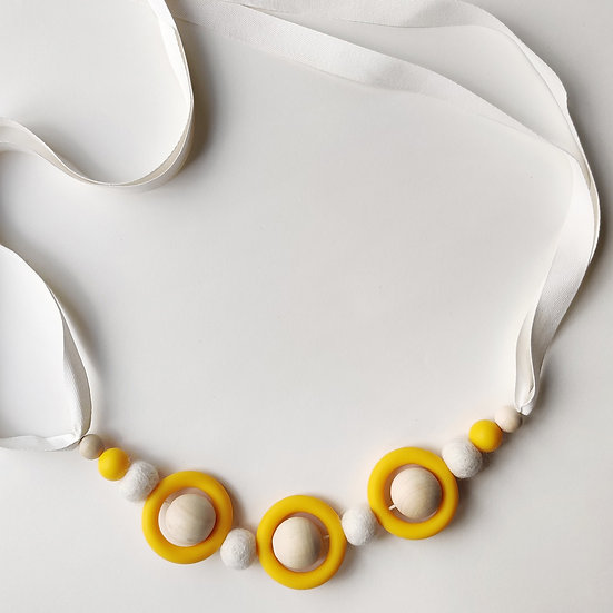 MAMAHOELA Pram Chain White Kit