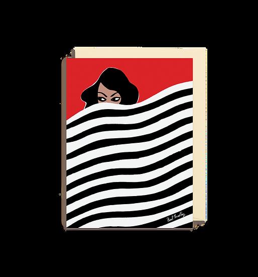 PAUL THURLBY Strip Tease Card