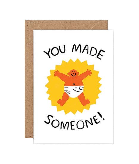 CARI VANDER YACHT You Made Someone Card