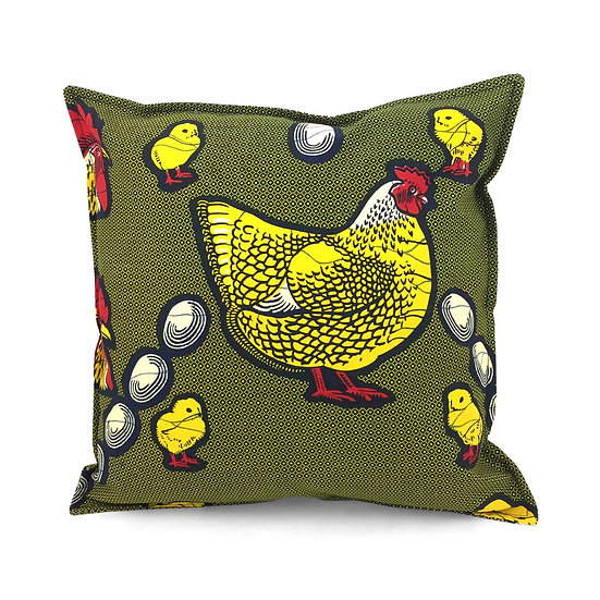 SCENERY LABEL Wax Cushion Chicken