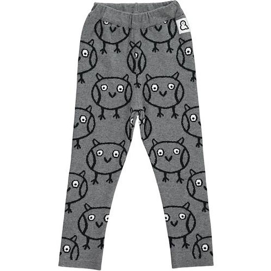 BOYS & GIRLS Owl Knit leggings