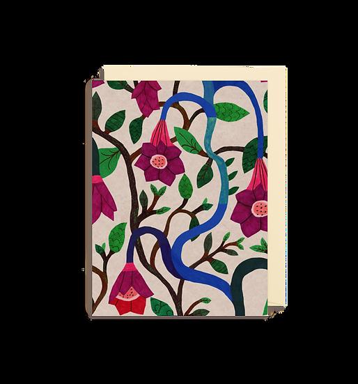 MONIKA FORSGERG Secret Garden Card
