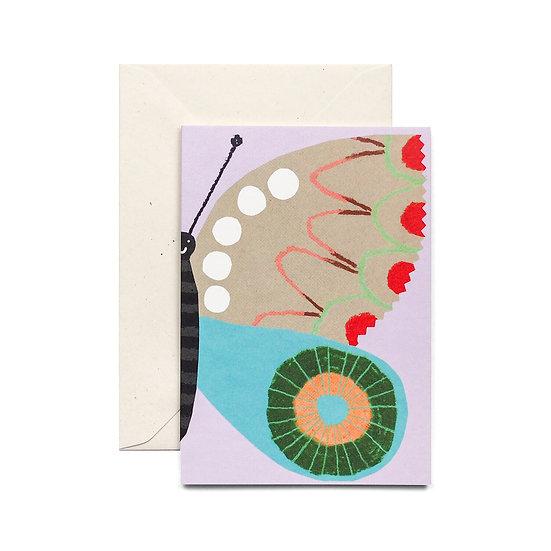 HADLEY Purple Butterfly Card