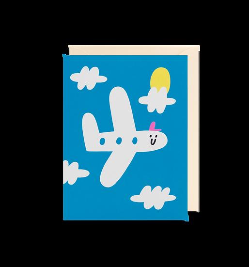 SUSIE HAMMER Plane Card