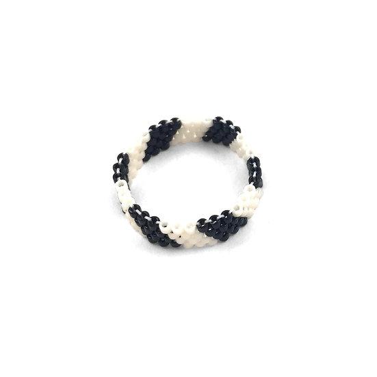 ROCKETREY Ring Black Stripe