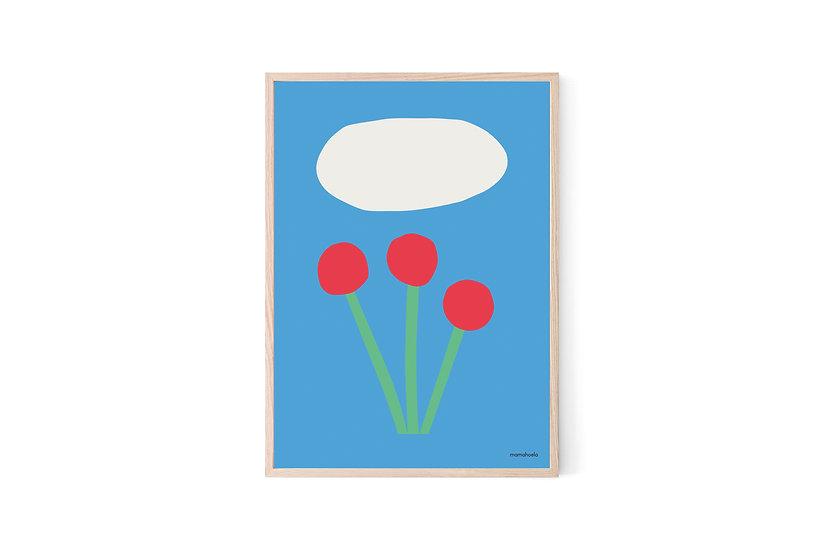 MAMAHOELA Flowers Print
