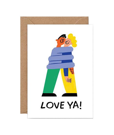 CARI VANDER YACHT Love Ya Card