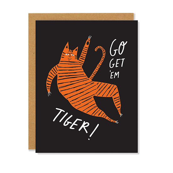 BADGER & BURKE Get 'Em Tiger Card