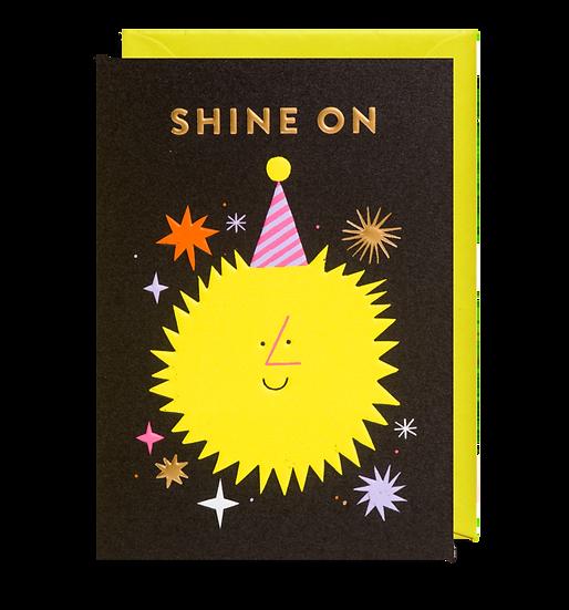 ROB HODGSON Shine On Card