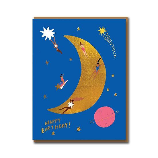 CAROLYN SUZUKI Moon Ladies Card
