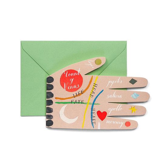 HADLEY Palm Reading Card