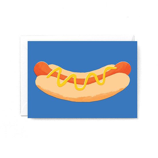 RUBY TAYLOR Hot Dog Card
