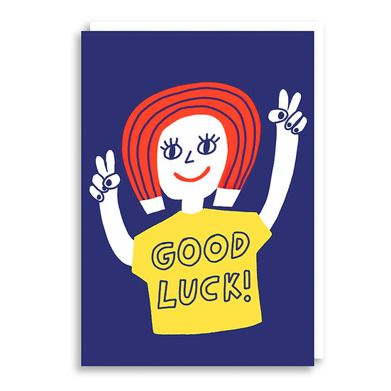 CACHETEJACK Good Luck Card
