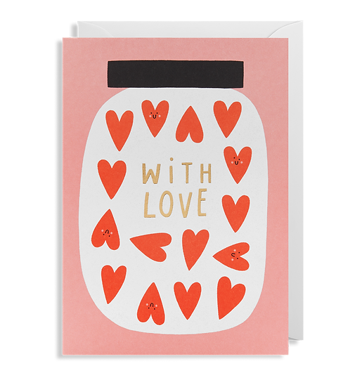 SUSIE HAMMER With Love Card
