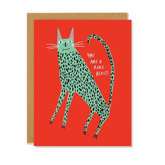 BADGER & BURKE Rare Beast Card