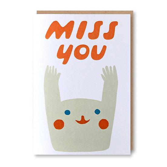 SUKIE Miss You Card