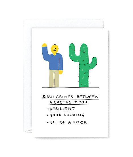 HOLLY ST CLAIR Cactus VS You Card
