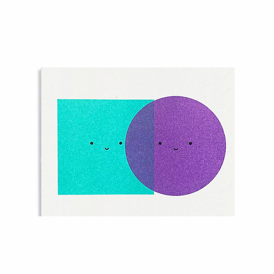 SCOUT EDITIONS Colour Block Card