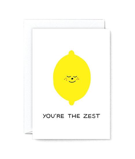 HOLLY ST CLAIR The Zest Card