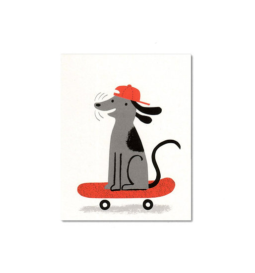 LISA JONES STUDIO Deck Dog Card