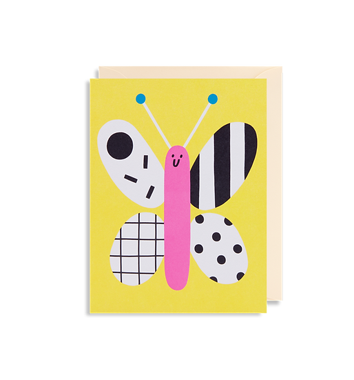 SUSIE HAMMER Butterfly Card