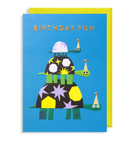 ROB HODGSON Party Hats Card
