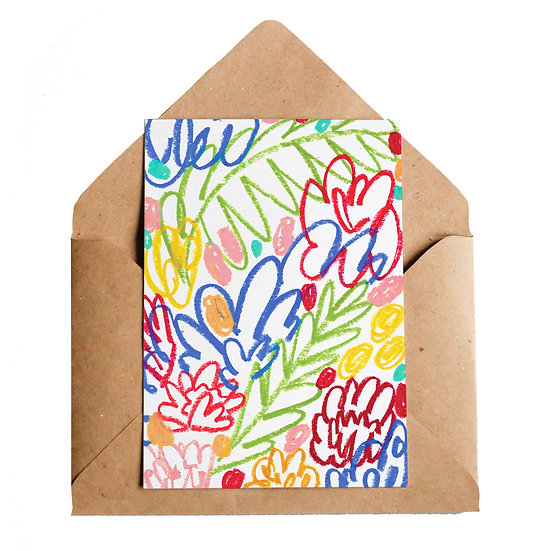LOTTIE HALL Hedgerow Card
