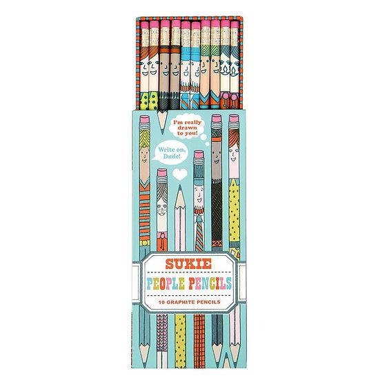SUKIE People Pencils