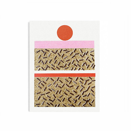 SCOUT EDITIONS Cake Card
