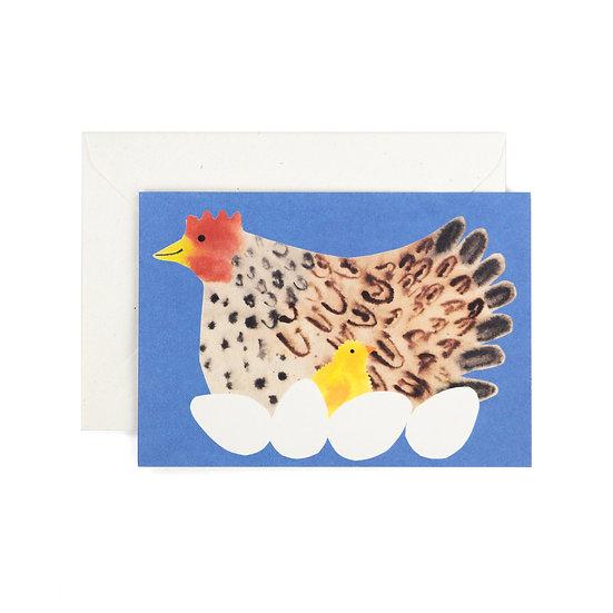 HADLEY Hen Card