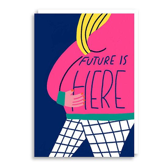 CACHETEJACK Future Here Card