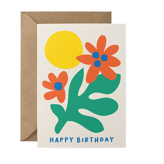 GRAPHIC FACTORY Sunny Birthday Card