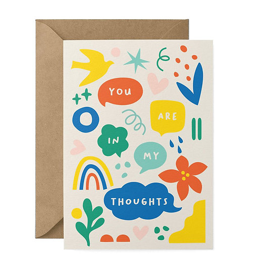 GRAPHIC FACTORY Thoughts Card