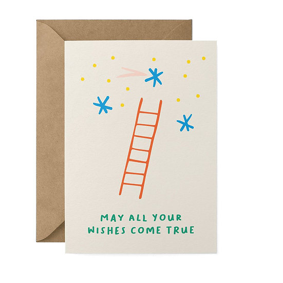 GRAPHIC FACTORY Wish Ladder Card