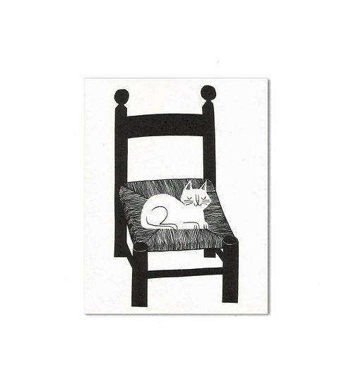 LISA JONES STUDIO Cat Nap Card
