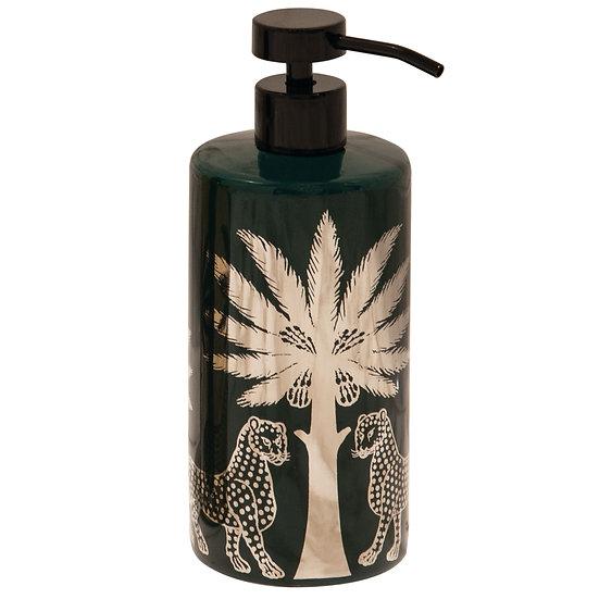 ORTIGIA Ceramic Soap Bottle Green 500ml