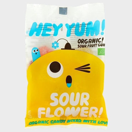 HEY YUM! Sour Flower Fruit Gums