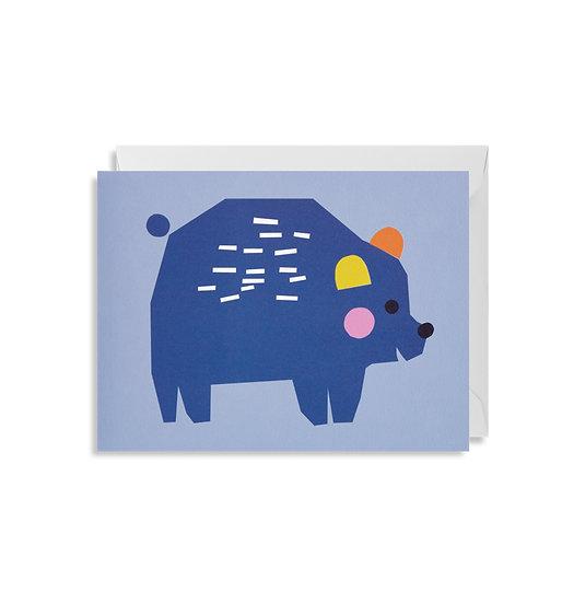 EKATERINA TRUKHAN Bear Card