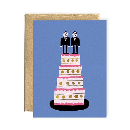 BENOIT TARDIF Wedding Men Card