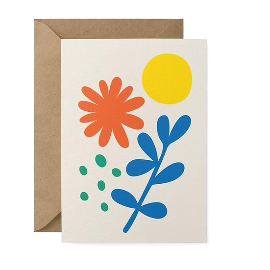 GRAPHIC FACTORY Flower Card