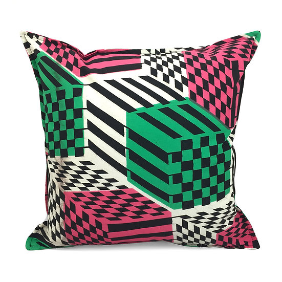 SCENERY LABEL Wax Cushion Chequer