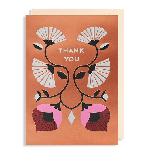 DARLING CLEMENTINE Thank You Copper Card