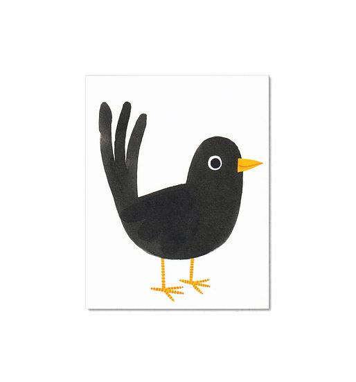 LISA JONES STUDIO Blackbird Card