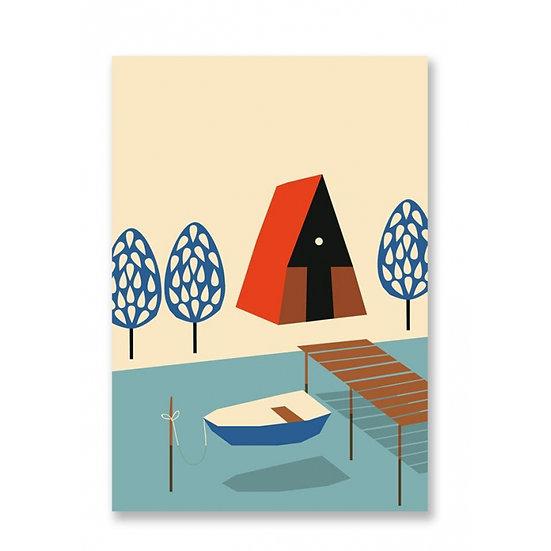 ANNA KÖVECSES Lake Postcard