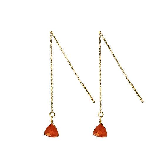 JUULRY Red Carnelian Earrings