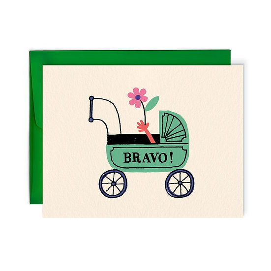 BENOIT TARDIF New Baby Card