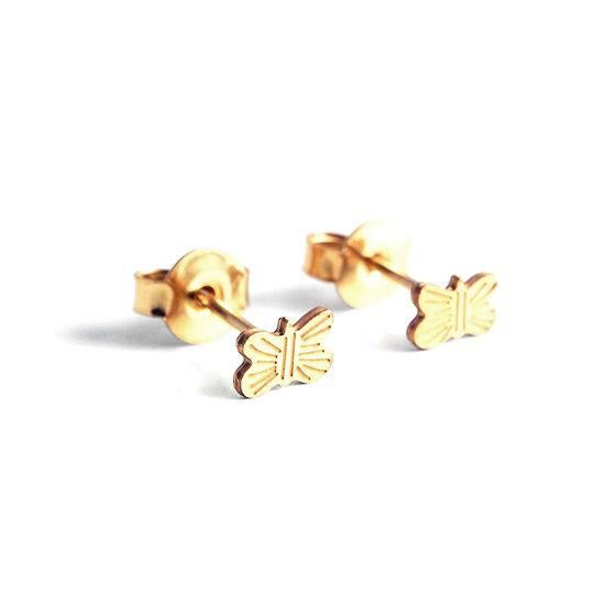 ADORABILI Butterfly Stud Earrings