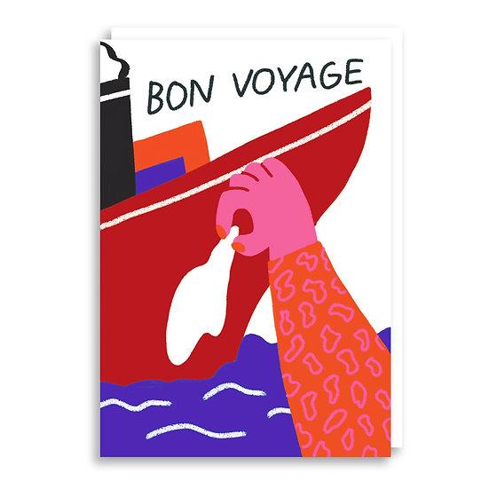 CACHETEJACK Bon Voyage Card